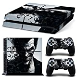 Custom Joker Skin Sticker Cover Protector Decal for Sony PS4 Playstation 4 Console and Controller