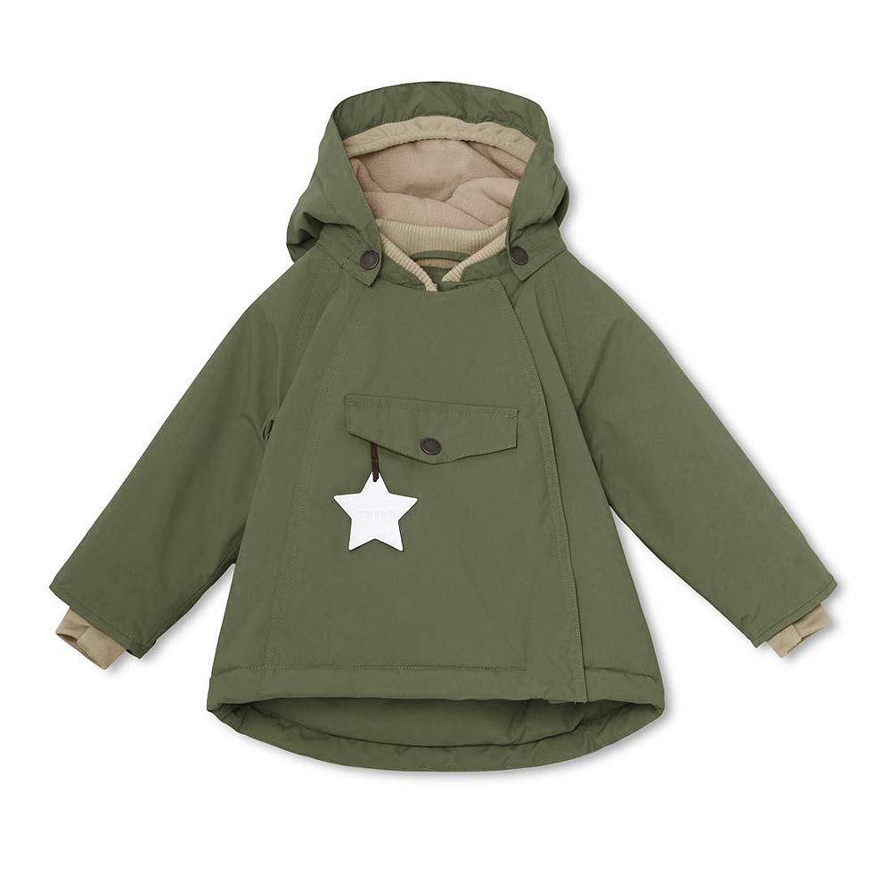 gr/ün MINI A TURE Kinder Winterjacke Wang Beetle