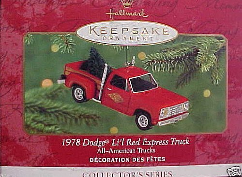 Hallmark Keepsake 1978 Dodge Li'l Red Express Truck 2000 Christmas ()