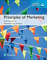 Principles of Marketing, Global Edition, 17th Edition Front Cover