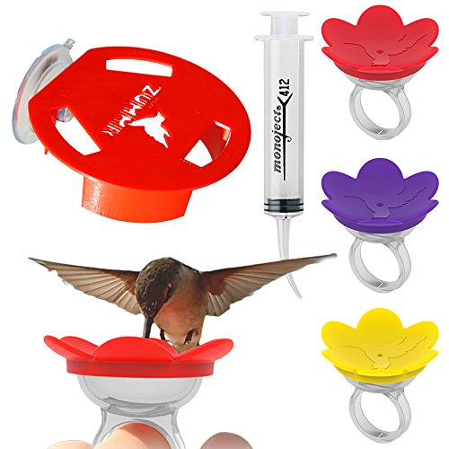 ZUMMR Hummingbird Ring Feeder Trainer Starter Set - 3 Pack by ZUMMR