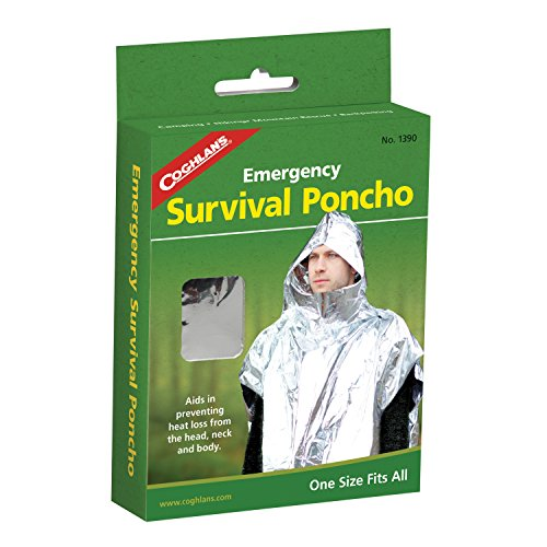 - Coghlan's Emergency Survival Poncho