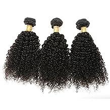 BHF Hair Brazilian Virgin Hair Extensions Curly Human Hair Weave Bundles (100g/bundle) 8-30 Inch Natural Black Color (8)