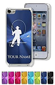 Personalized Case/Cover for iPhone 5C - FLY FISHERMAN - Laser Engrave Your Name for FREE