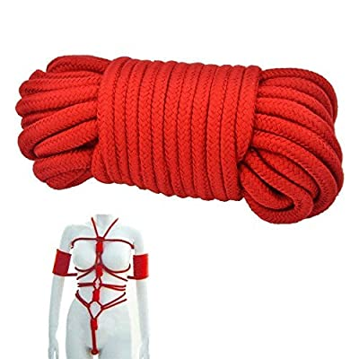 DAISEN 2016 New 32-foot 10m Long Soft Silk Rope Restraint Rope SM Rope Climbing Camping Utility Rope Role