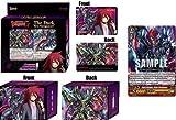 Cardfight Vanguard G Gear Chronicle TCG English VGE-G-LD01 The Dark Ren Suzugamori Starter Trial Legend Deck - 50 cards