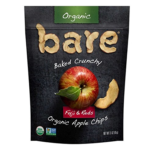 Bare Organic Fuji & Reds Apple Chips 3 oz (4 Pack)