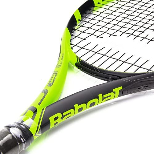 Babolat Pure Aero Junior 26 Inch Black/Yellow Tennis Racquet (140225)
