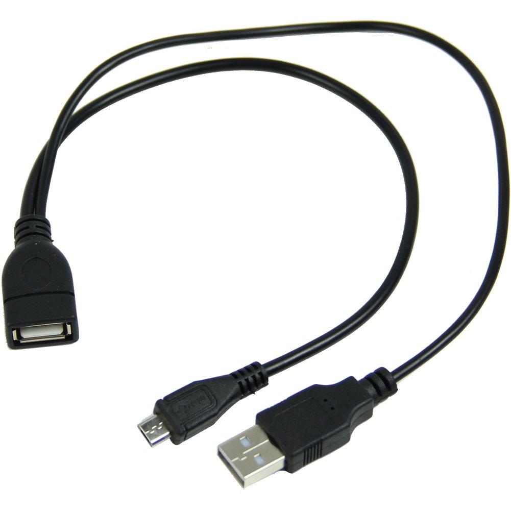 Galaxyworld® OTG Host Kabel 3 in 1 USB A zu Micro USB Male Female ...