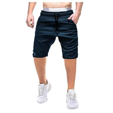 FELZ Pantalones Hombre Pantalones Cortos de Hombre Pantalones ...