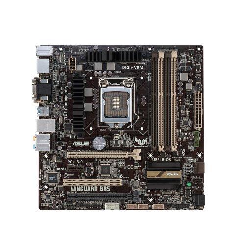 ASUS TUF Vanguard B85 LGA 1150 DDR3 SATA 6Gb/s USB 3.0 Intel B85 microATX Motherboard