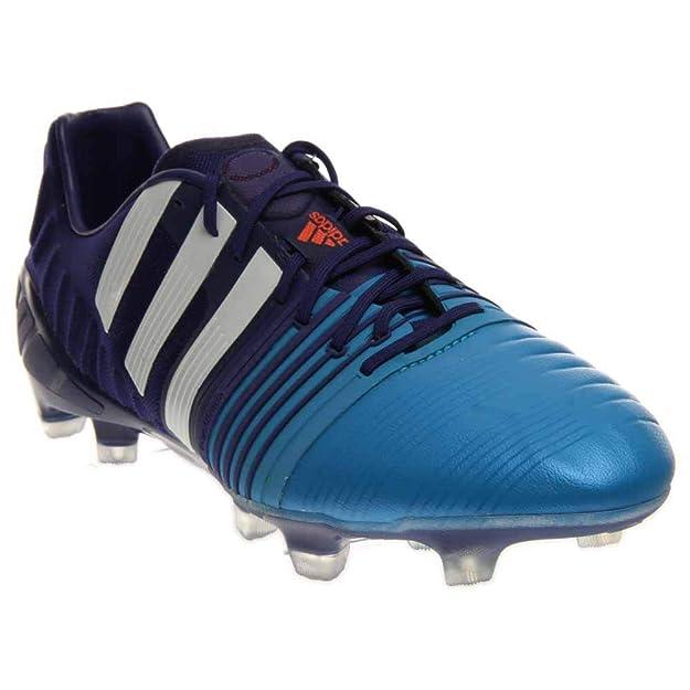 Amazon.com: adidas nitrocharge 1.0 FG – Botas de fútbol ...