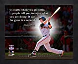 Buster Posey San Francisco Giants Pro Quotes Framed 8x10 Photo