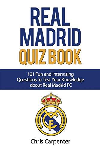 Download Real Madrid Quiz Book: 2017/18 Edition ebook
