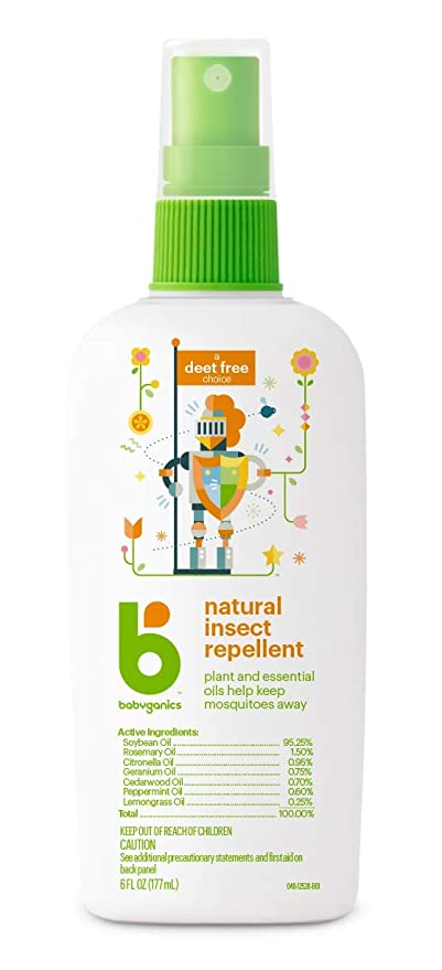 Babyganics Natural Insect Repellent 6 Oz Packaging May Vary