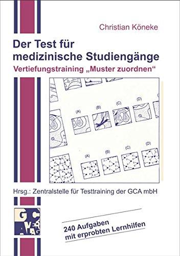 Der Test Für Medizinische Studiengänge Vertiefungstraining 'Muster Zuordnen'