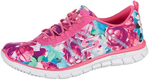 Skechers Glider Posies Womens Slip On Sneakers Hot Pink/M...