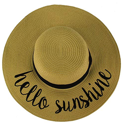 (Hello Sunshine Wide Brim 4