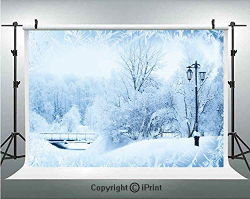Winter Photography Backdrops Winter Trees in Wonderland Theme