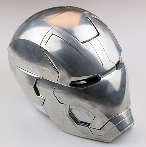 Iron Man Mask Light Up Eyes - 5