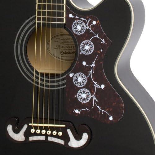 Epiphone EJ-200SCE Acoustic/Electric Guitar (Black)