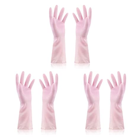 release info on outlet online uk cheap sale Amazon.com: Disposable Gloves Waterproof Latex Non-stick ...