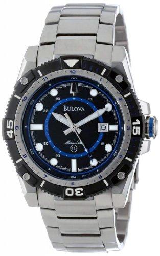 Bulova Men's 98B177 Marine Star Stainless Steel Watch ()