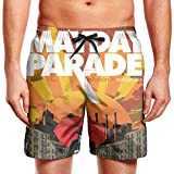 Man's MayDay-Parade-A-Lesson-in-Romantics- Swim Trunks Mens Pants