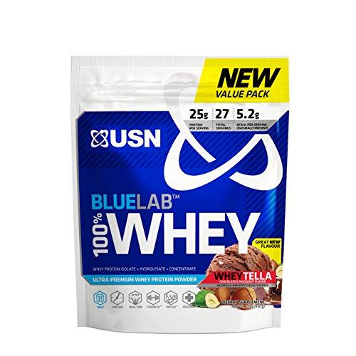 USN BlueLab 100 Percent Whey, 2 Pounds, Wheytella