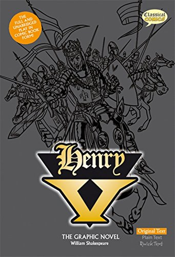 Henry V The Graphic Novel: Plain Text (British English)