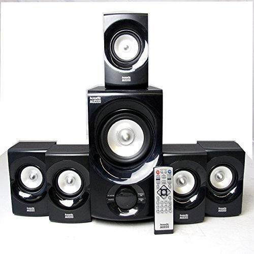Acoustic Audio AA5171 5.1 Surround Sound Bluetooth Home Entertainment System by Acoustic Audio by Goldwood