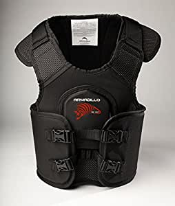 "Go Kart Racing Adult Rib Vest and Chest Protector - Armadillo by Team Valhalla Sizes S-XL (L 38""-43"")"
