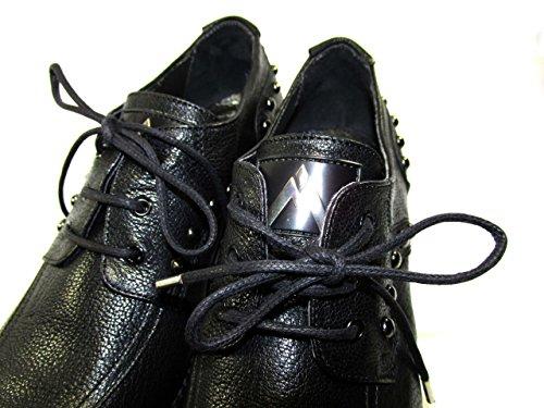 Negro Piel Vestir de de Morelli para Mujer Zapatos Andrea 7vBq8WZW