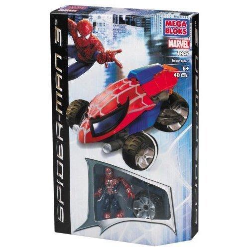 Mega Bloks: Spider-Man 3 Attack Bike (1947)