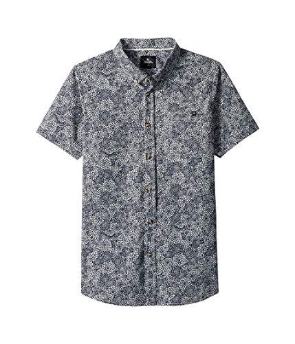 Rip Curl Kids Boy's Preset Short Sleeve T-Shirt (Big Kids) Navy X-Large
