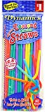 Extra Long Flexible Straws 36 Pack: 1440 Total Straws!