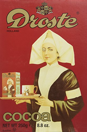 Droste Cocoa Powder 8.8 Ounce Box (Pack of 3) Dutch Style Cocoa for Baking Desserts and More by Droste (Image #1)