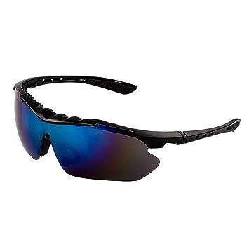 Deportivas gafas de sol polarizadas, antivaho anti deslumbramiento para conducción nocturna equitación deporte gafas de