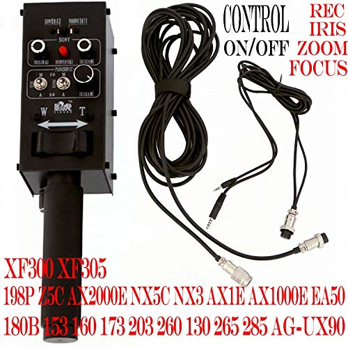 DV Camcorder Pro Remote Controller with iris Focus Zoom Control Lanc for dv from Sony or PANASONIC for Camera Jib Crane Arm