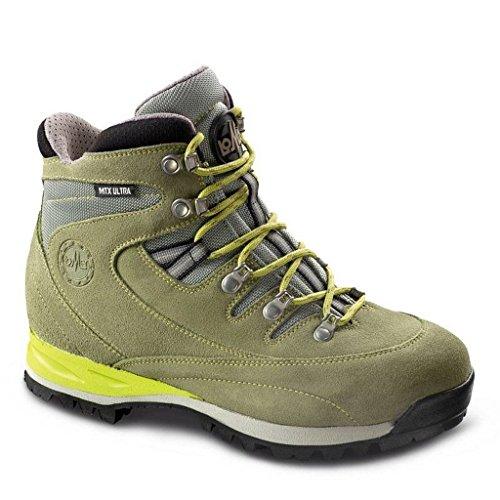 De Zapatillas Mujer Para Piel Senderismo Lomer Claro Verde d5wqzfFFxc