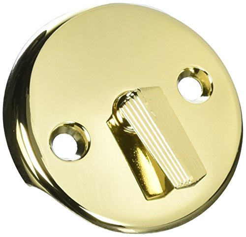 DELTA FAUCET 341-222 Master Plumber Polished Brass Overflow Face Plate