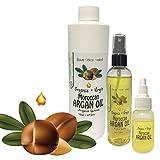 Virgin Organic Argan Oil-100% Pure Virgin Organic Argan Oil, Easy Spray Application (1 Ounce)