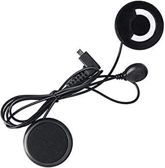 Intercom Bluetooth Kopfhörer Lautsprecher Motorrad Helm Headset
