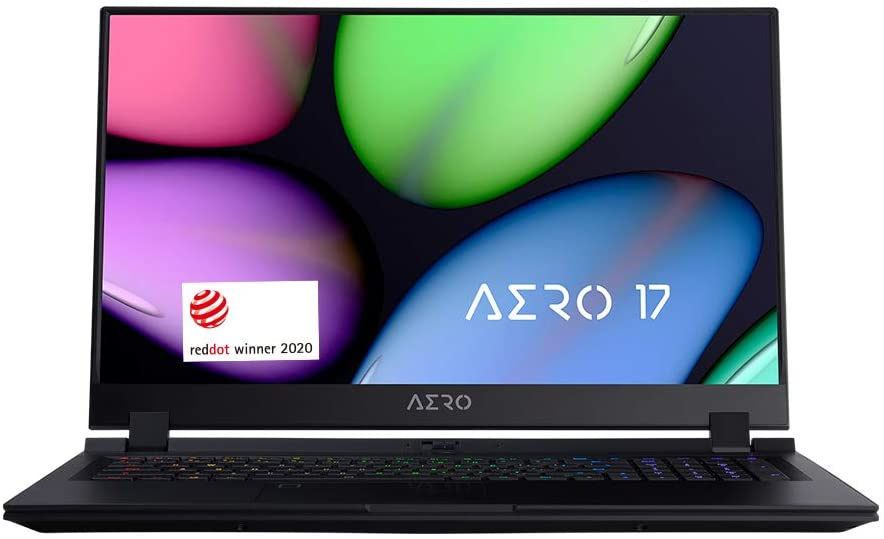 "[2020] Gigabyte AERO 17 XB Thin+Light Performance Laptop, 17.3"" 144Hz FHD IPS Display, GeForce RTX 2070 Super Max-Q, Intel Core i7-10750H, 16GB DDR4, 512GB NVMe SSD, Up to 8.5-hrs Battery Life"