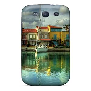 Water Ships Hdr Photography Case Compatible With Galaxy S3/ Hot Protection Case