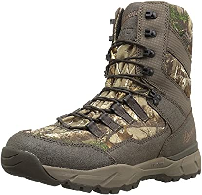 a3704bebf63 Danner Men's Vital Insulated 800G Hunting Shoes Realtree Extra 9.5 D ...