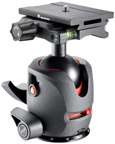 Manfrotto MH054M0-Q6 054 Magnesium Ball Head with Q6 Top Lock Quick Release (Black)
