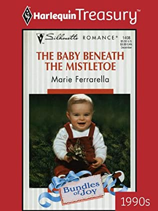 book cover of The Baby Beneath the Mistletoe