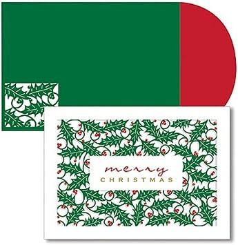 12 Tarjetas de Navidad HALLMARK Studio Tinta En Caja Set con 12 Sobres