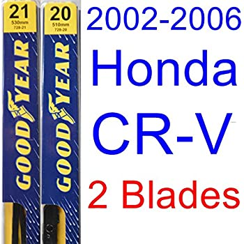 Amazon.com: Honda CR-V (2002-2006) Wiper Blade Kit - Set Includes 21 ...